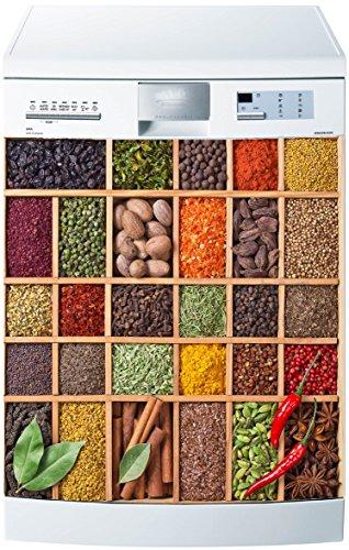 Preisvergleich Produktbild stickersnews–Magnet Spülmaschine Boite à Gewürze 60x 60cm OEM 5505