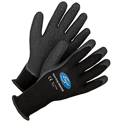 Arbeitshandschuhe Winterhandschuhe Montage Kori-Grip Winter - Größe 11 - schwarz