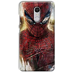 yP Spiderman Design Hard Back Case Cover for Xiaomi Redmi Note 4