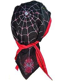 Bandana araignée spider serre tete Du Rag Doo Rag Foret