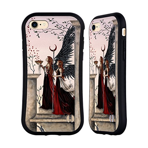 Ufficiale Amy Brown Guardiano Fantasy Case Ibrida per Apple iPhone 7 / iPhone 8 Incantesimo Rosa