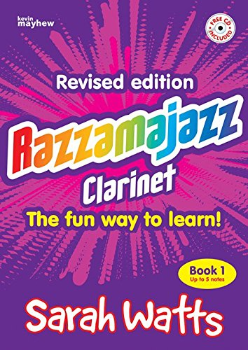 Kevin Mayhew RAZZAMAJAZZ CLARINET BOOK 1 + CD Jazz&blues sheet Clarinet