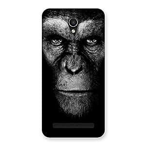 Chimp King Black Back Case Cover for Zenfone Go