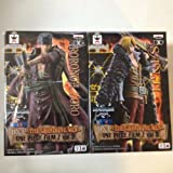 One Piece DXF THE GRANDLINE MEN FILM Z vol.2 (Zorro) vol.3 (Sanji) Set of 2 (japan import) by Banpresto