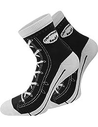 4 Paar Baumwoll Socken im Schuh - Design