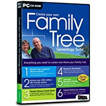 Create Your Own Family Tree Genealogy Suite (PC)