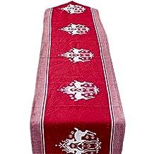 Mantel Rectangular, Mantel de Lino de algodón, vajilla Lavable del Partido de la Cocina