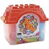 Casita Cubo Con 34 Piezas Construccion
