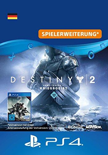 Destiny 2 - Erweiterung II - Kriegsgeist DLC | PS4 Download Code - deutsches Konto