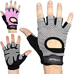 Netrox Training Gloves Fitness Gloves Sports Gloves Training Gloves Fitness Gloves Sports Gloves Glove (gray, S)