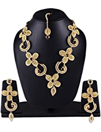 Jewellery Set | Necklace | Latest Designer Traditional Wear With Earrings For Women And Girls Exclusively Gifts...