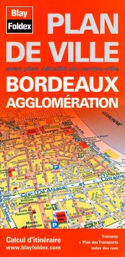 Plan de Bordeaux et de son agglomération