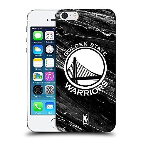 Coque Iphone 5 Nba - Officiel NBA B&W Marbre Golden State Warriors