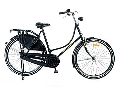 28 Zoll Damen Fahrrad Hollandrad Schwarz Rh:57cm