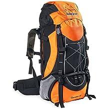 AspenSport Unisex Cherokee 60mochila, color naranja, tamaño talla única, volumen liters 60.0