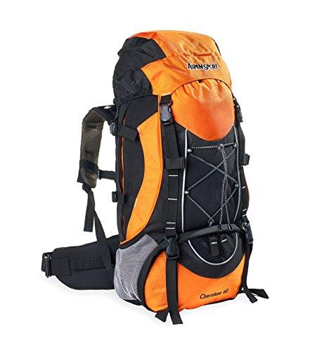 AspenSport Cherokee 60 Rucksack, orange, One Size