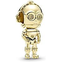Pandora Star Wars C-3PO Charm, Pandora Shine Gold, 769244C01