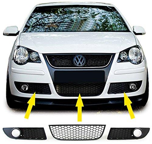 carparts de Online GmbH 26559Panal parrilla enfriador para uso GTI + delanteros y antiniebla para paneles