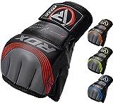 RDX MMA Handschuhe Profi Maya Hide Leder UFC Kampfsport Sparring Freefight Sandsack Trainingshandschuhe Grappling Gloves