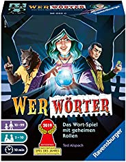 Ravensburger 26025 Wer Wörter - Spannendes Wort-Ratespiel für Erwachsene und Kinder ab 10 Jahren, Ideal für Sp