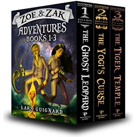 Zoe & Zak Adventures: Books 1-3 (Kids Adventure Series) (English Edition)