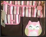 Carter's Owl Diaper Tote Bag