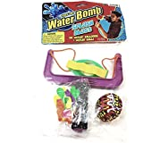 Water Bomb Toss Em Splash Blast Slingshot 10 Balloons & Ball Set Pool/Beach Toy
