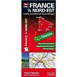 France 1/4 Nord-est : 1/500 000