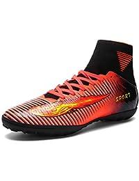 huge discount de138 797d1 AKALI Crampons High Top Chaussures de Football Homme,Vert,Violet,Orange