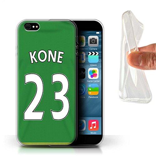 Offiziell Sunderland AFC Hülle / Gel TPU Case für Apple iPhone 6+/Plus 5.5 / Mannone Muster / SAFC Trikot Away 15/16 Kollektion Kone