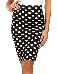 218f63fabba8 Amazon.es: falda tubo negra midi - S / Faldas / Mujer: Ropa