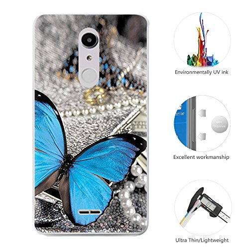 95Street Silikon Hülle für Alcatel A3 XL, Ultra-Clear Handyhülle für Alcatel A3 XL Soft TPU Crystal Clear Premium Schutzhülle Case Backcover Bumper Slim Case für Alcatel A3 XL