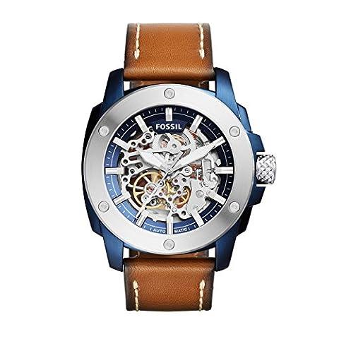 Fossil Herren-Uhren ME3135 (Herren Fossil Skelett)