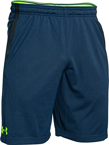 Mesh Shorts Navy (Under Armour Herren Shorts Tech Mesh, blackout Navy, L, 1271940)