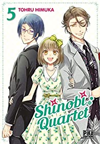 Shinobi Quartet, tome 5 par Tohru Himuka