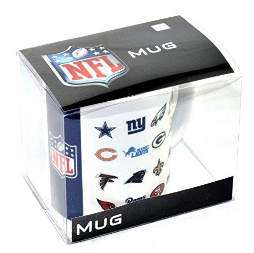 Limited Special NFL 2017 All Logo Mug/ Kaffeetasse