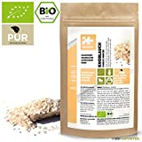 NATURTEIL – BIO Knoblauch minced, granuliert - 500g - Gewürz, Vegan, frei von Zusätzen | Organic Garlic minced