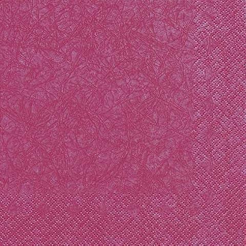 60 Tovaglioli Berry 33 x 33 cm 3-strati di carta, Lunch Tovaglioli