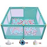 Bettgitter HUO Baby Spiel Zaun Indoor Baby Krabbeln Matte Kleinkind Zaun - Blue-8Models (größe : A2)