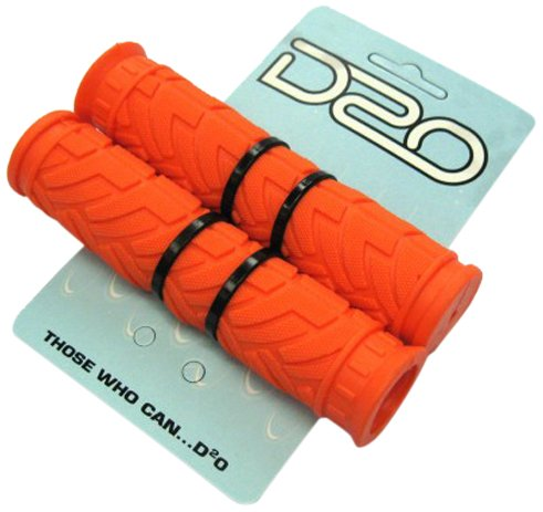 D2O ATB Krayton Gummi-Lenkerbezüge Orange orange -