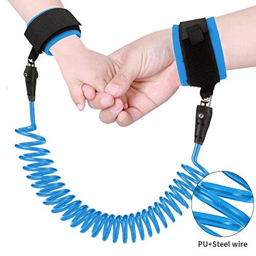 BALMORA 8.0 Fuß Kind Sicherheit Tether für Walking in Public Places, Sicherheit Handgelenk Link, Anti-Lost-Armband
