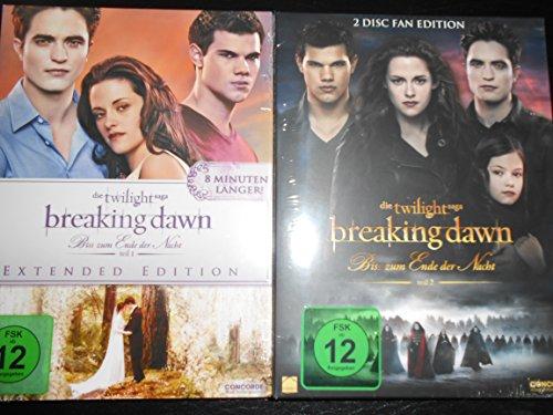 """Preisvergleich Produktbild **Breaking Dawn ...Biss zum Ende der Nacht Teil 1&2 """"Fan Edition"""""""
