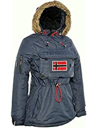 Geographical Norway Chaleco Bronson Lady Negro Black