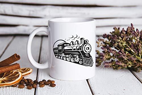 EstherBur87 Zugbecher Choo Choo Zug mugcoffee Liebhabergeschenk personifiziertes Geschenk Bechers f¨¹r himUnique Kaffee mugceramic Becher personifiziertes Geschenk