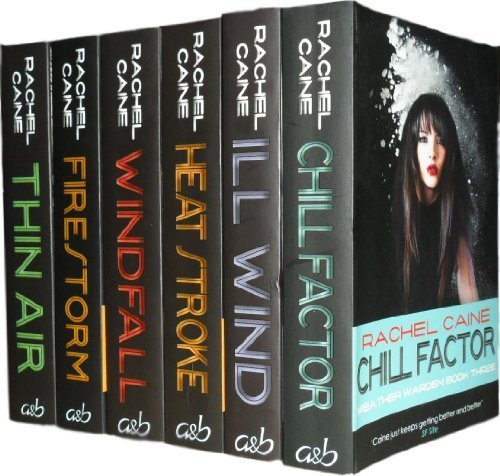 Wind Chill Heat (Weather Warden Collection 6 Books Set Pack RRP 41.94 ( Chill Factor, Windfal...)
