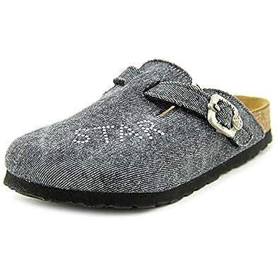 Birkenstock Boston RSB 860803, Chaussures mixte enfant - gris, 27 (narrow) EU