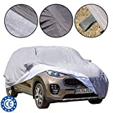 Dust / UV Proof Heavy Duty Waterproof Cotton inside lining Scratch Proof Durable Car Cover, Universal fit for SUV (480*193*155 cm) L