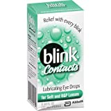 AMO Blink Contact Lubricant Eye Drops for Soft and RGP Lenses, .34-Ounce Box ( Economy) Advanced-iz by Advanced