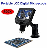 Best GENERIC 1080p Video Cameras - USB Microscope 600x USB Electronic Microscope LCD Digital Review