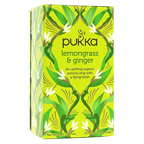(6Stück)–Bio Zitronengras & Ingwer Tee | Pukka Herbal Ayurveda